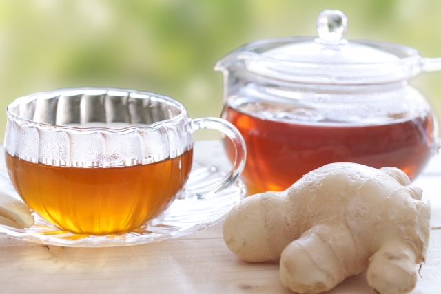 生姜紅茶 成分