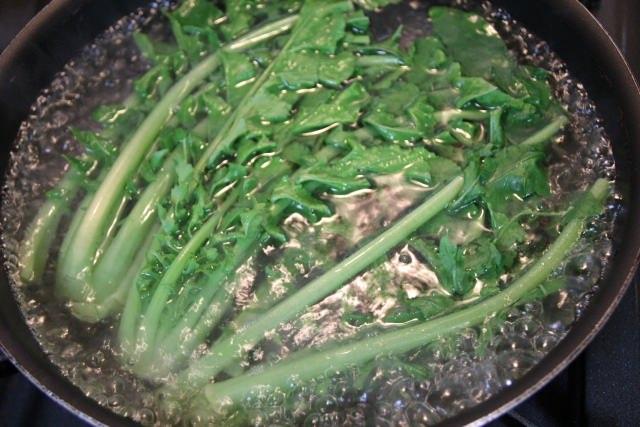 大根の葉 栄養 効果 効能