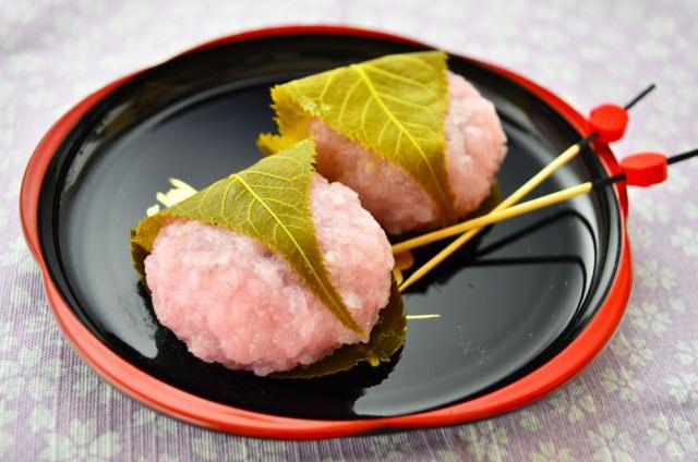 桜餅 葉っぱ